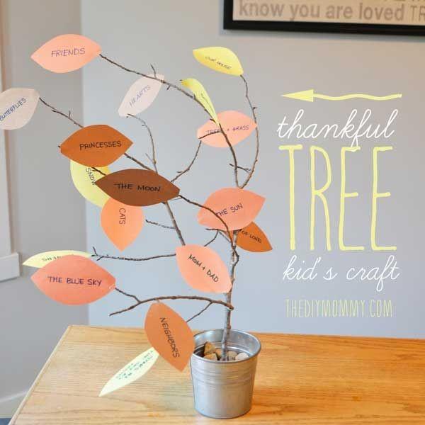 6 Fun Thankful Crafts For Kids
